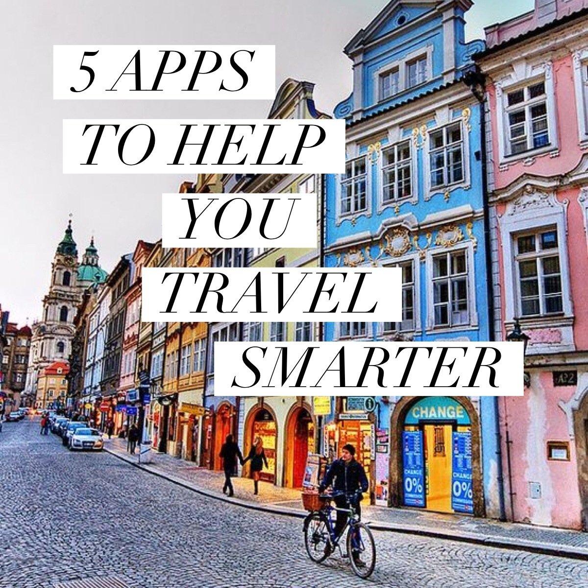 5 apps to help you travel smarter // www.skedgo.com/blog