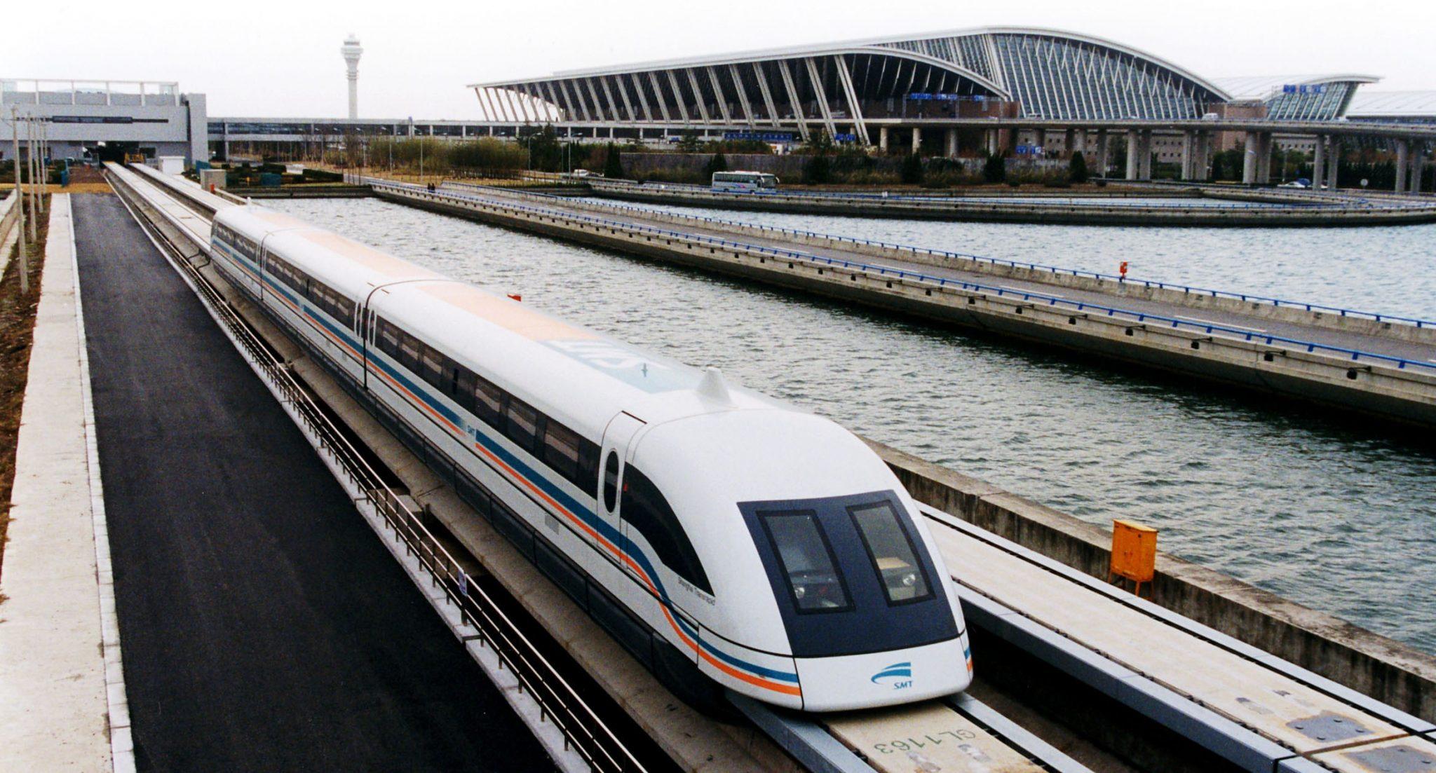 Future of Transport :: Maglev trains // www.skedgo.com/blog