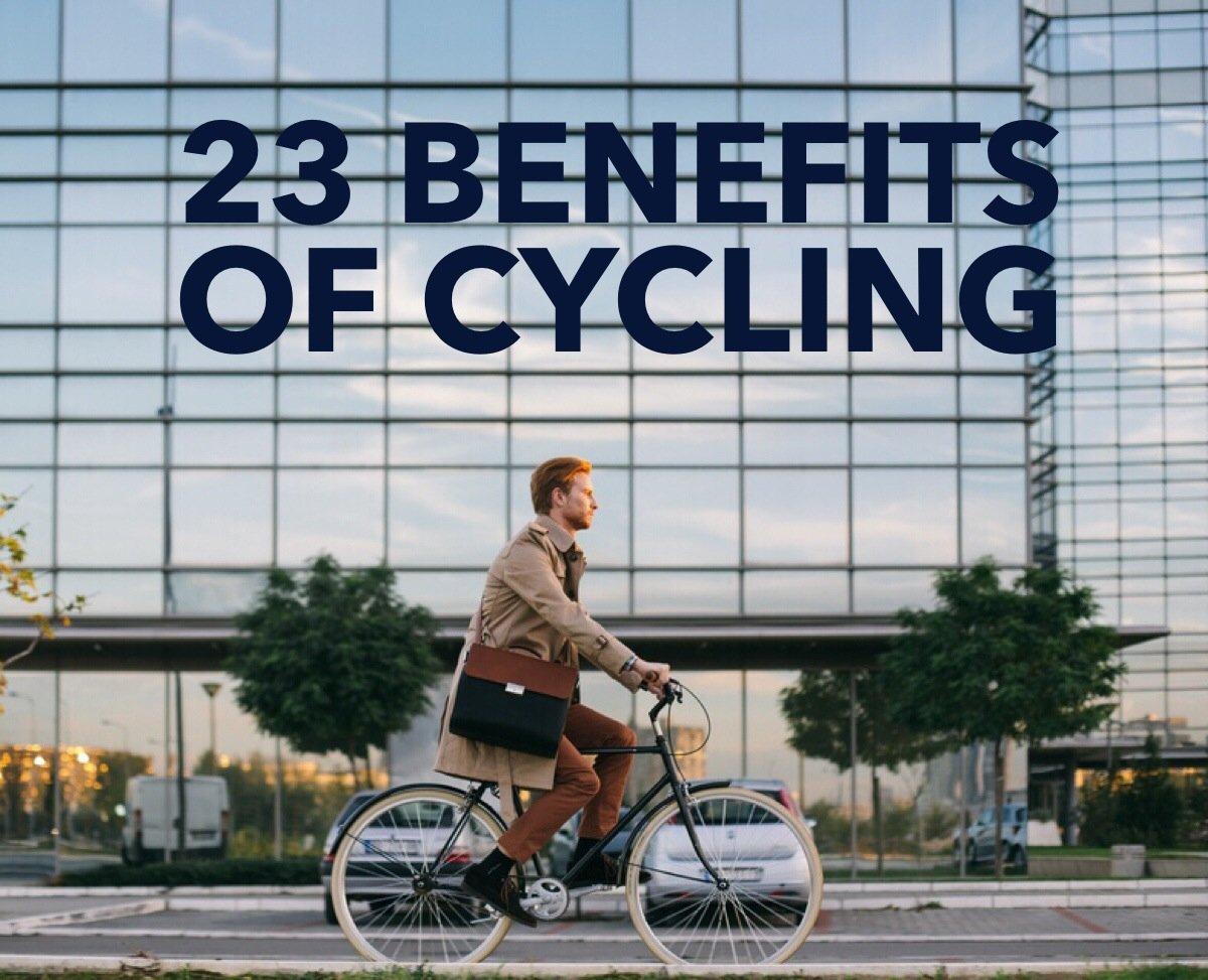 23 Benefits of cycling // www.skedgo.com/blog