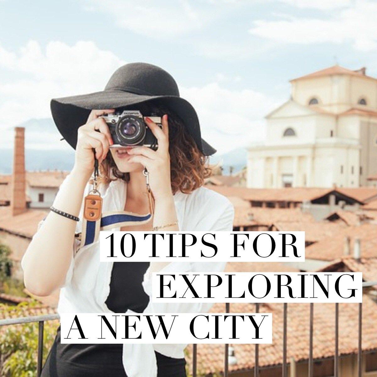 10 Tips for Exploring a New City // www.skedgo.com/blog